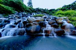 益子舘 滝